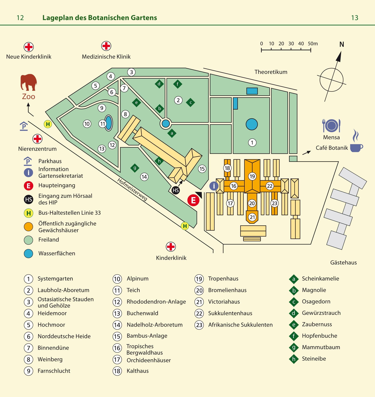 botanischer garten heidelberg parken