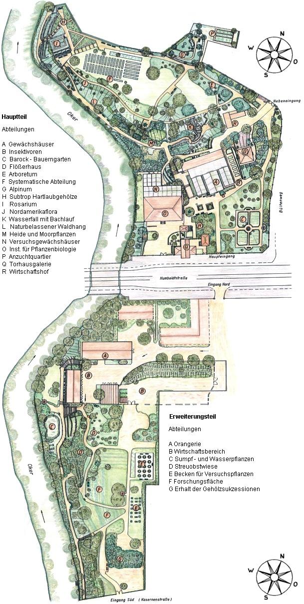 Arboreten De Botanischer Garten Der Tu Braunschweig